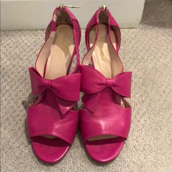 7e9aa5692455 kate spade Ny Shoes - Kate spade high heel fushia sandal 9.5